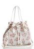 Floral Perforated Bucket Bag alternate view