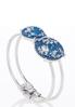 Glittery Disc Cuff Bracelet alternate view