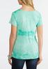 Knotted Tie Dye Top alternate view