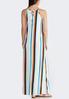 Petite Vertical Stripe Maxi Dress alternate view