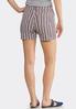 Stripe Denim Shorts alternate view