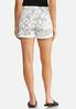 Sketchy Floral Shorts alternate view
