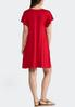 Plus Size Red T- Shirt Dress alternate view