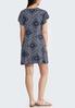 Plus Size Bandana Flutter Sleeve Dress alternate view