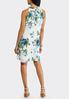 Floral Chiffon Swing Dress alternate view