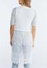 Elegant Embroidered Mesh Vest alternate view