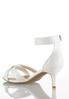 Wide Width Ankle Strap Heeled Sandals alternate view