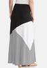 Colorblock Maxi Skirt alternate view