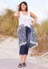 Plus Size Floral Lace Layering Vest alternate view