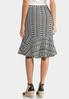 Jacquard A- Line Skirt alternate view