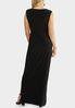 Plus Size Tie Front Maxi Dress alternate view