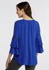 Plus Size Double Bell Sleeve Top alternate view