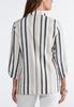 Striped Linen Blazer alternate view