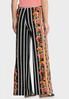 Floral Striped Palazzo Pants alternate view