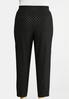 Plus Size Dotted Knit Pants alternate view
