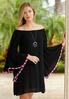 Plus Size Convertible Peasant Dress alternate view