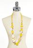Lucite Beaded Necklace alternate view