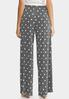 Dotted Plaid Palazzo Pants alternate view