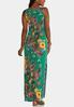 Plus Size Botanical Maxi Dress alternate view