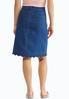 Scalloped Denim Skirt alternate view