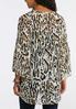 Leopard Ruffle Sleeve Kimono alternate view
