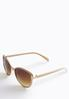 Mixed Metal Cateye Sunglasses alternate view