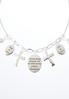Inspirational Charm Necklace Set alternate view