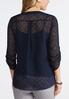 Plus Size Jacquard Pullover Top alternate view