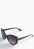 Shimmer Rim Fashion Sunglasses alternate view