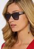 Black Fashion Sunglasses alternate view