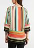 Colorful Stripe Pullover Top alternate view