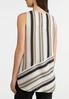 Neutral Mixed Stripe Tunic alternate view