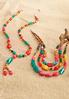 Colorful Bead Tassel Necklace alternate view