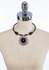 Beaded Statement Pendant Necklace alternate view