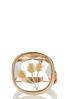 Flower Infused Gold Ring alternate view