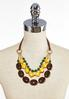 Tribal Bead Cord Necklace alternate view