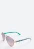 Floral Bloom Aviator Sunglasses alternate view