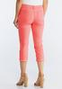 Cropped Neon Cuffed Pants alternate view