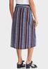 Plus Size Americana Tie Waist Skirt alternate view
