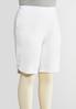 Plus Size Sparkling Grommet Bermuda Shorts alternate view