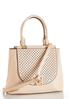 Perforated Flap Structured Satchel alternate view