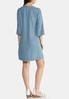 Embroidered Chambray Tunic alternate view