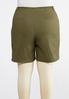 Plus Size Bermuda Chino Shorts alternate view