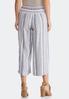 Cropped Stripe Linen Pants alternate view