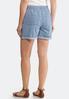Stripe Tencel Shorts alternate view