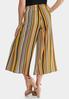 Cropped Golden Stripe Pants alternate view
