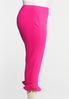 Plus Size Cropped Slim Fit Pants alternate view