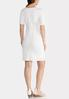 Plus Size Front Knot Sheath Dress alternate view