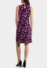 Plus Size Purple Leopard Swing Dress alternate view