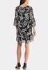 Plus Size Floral Peasant Dress alternate view